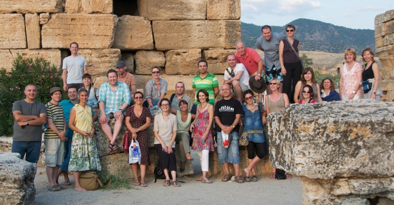 DeTALES Group with Trainers in Hierapolis